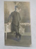 CARTE PHOTO 1900's Militaire Officier Portrait Militaria Carte Postale Ancienne CPA Postcard Animee - Photos