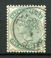 NATAL ( POSTE ) : Y&T  N°  43  TIMBRE  BIEN  OBLITERE . A  VOIR . - Natal (1857-1909)