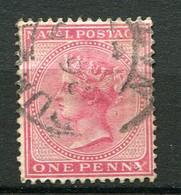 NATAL ( POSTE ) : Y&T  N°  44  TIMBRE  BIEN  OBLITERE . A  VOIR . - Natal (1857-1909)