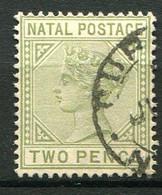 NATAL ( POSTE ) : Y&T  N°  45  TIMBRE  BIEN  OBLITERE . A  VOIR . - Natal (1857-1909)