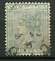 NATAL ( POSTE ) : Y&T  N°  47  TIMBRE  BIEN  OBLITERE . A  VOIR . - Natal (1857-1909)