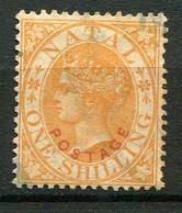 NATAL ( POSTE ) : Y&T  N°  50  TIMBRE  BIEN  OBLITERE . A  VOIR . - Natal (1857-1909)