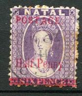 NATAL ( POSTE ) : Y&T  N°  55  TIMBRE  BIEN  OBLITERE . A  VOIR . - Natal (1857-1909)