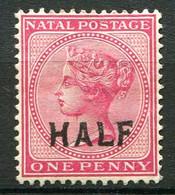 NATAL ( POSTE ) : Y&T  N°  56  TIMBRE  NEUF  SANS  GOMME . A  VOIR . - Natal (1857-1909)