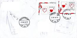 Romania 2002, Letter Returned From Ecuador - Briefe U. Dokumente