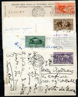 Z2359 ITALIA REGNO 1930-31 4 Cartoline Illustrate  Affrancate Con Bimillenario Virgilio, 15 C., 20 C., 25 C. E 30 C., Tu - Marcophilia