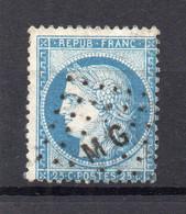 !!! PRIX FIXE : CACHET AMBULANT LOSANGE MG SUR CERES - FRAPPE SUPERBE - 1849-1876: Classic Period