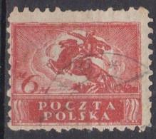 Polonia, 1919 - 6m Polish Cavalryman - Nr.146 Usato° - Used Stamps