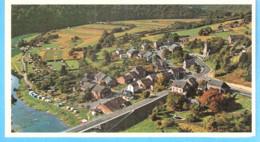 Membre-(Vresse-sur-Semois)-+/-1960-Panorama-Le Village- L'Eglise- Le Pont Sur La Semois-Camping - Vresse-sur-Semois