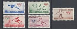 Nr 367-71** - 1947-60: Mint/hinged