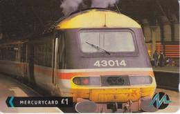 TARJETA DE MERCURY DE UN TREN BRITISH RAIL (TRAIN-ZUG) - Trenes
