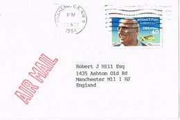 39353. Tarjeta Aerea Privada ANAHEIM (california) 1994. Philatelic VAN DAM Literature - Cartas