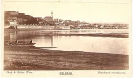 Old Photo By A. Helm Wien, View Of Belgrad (Serbia), Nachdruck Vorbehalten, Cdv Ca 1865, Good Condition - Old (before 1900)