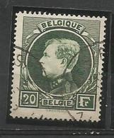 SOLDES - 1930/1941 - COB N° 290 A, B Ou C - 5 Exemplaires Oblitérés (o) - TIRAGE DE MALINES - 1929-1941 Gran Montenez