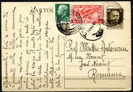 Z2376 ITALIA REGNO 1936 Cartolina Postale 30 C. (Fil. C80) Con Affrancatura Aggiuntiva (Fiera Di Milano 20 C. + Imperial - Stamped Stationery