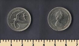 Saint Helena And Ascension 1 Pound 1984 - Saint Helena Island
