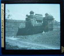 FORT LINGANG - DELHI - INDE - Glasplaten
