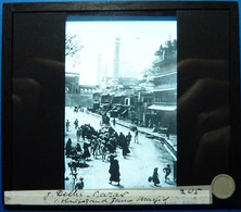BAZAR - DELHI - INDE - Diapositivas De Vidrio