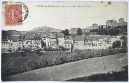 SEYNE-LES-ALPES (Alt.1282 M.) ._La Ville Et Le Fort - Sin Clasificación
