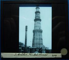 KUTAL MINAR - DELHI - INDE - Glasplaten