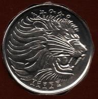 ETHIOPIA 25 SANTEEM 1996 (2004)  KM# 46.3   LION - Ethiopia