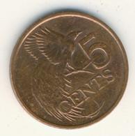 TRINIDAD & TOBAGO 2012: 5 Cents, KM 30 - Trinidad & Tobago