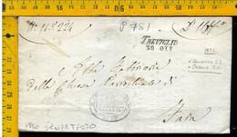 Piego Senza Testo Treviglio Per Canonica - 1. ...-1850 Prephilately