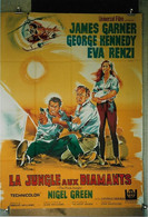 """La Jungle Aux Diamants"" J. Garner, G. Kennedy, Eva Rinzi...1968 - 60x80 - TTB - Posters"