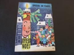 JOURNAL TINTIN N°50 1961  SPECIAL NOEL - Tintin