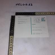 FB3835 GERMANIA INTERO POSTALE PREAFFRANCATA 50 C. TIMBRO TARGHETTA WELTMEISTERSCHAFTEN PER AMBURGO 1981 - Postales - Usados