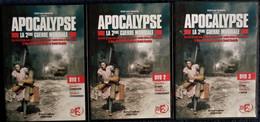 APOCALYPSE - La 2ème Guerre Mondiale - DVD 1 - 2 - 3 - épisodes 1 à 6 . - History