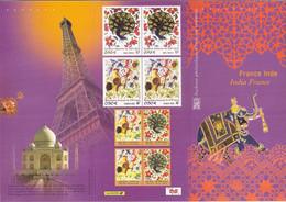 Emission Commune P3629. France-Inde. 2003. Cote 20.00 € - Autres