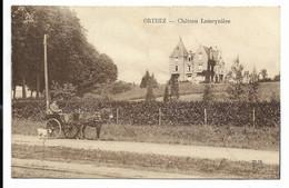 64-ORTHEZ-Château Lameynière... 1926  Animé  Attelage - Orthez