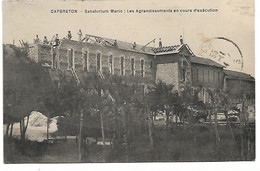 L100H791 - Cap-Breton - Capbreton - Sanatorium : Les Agrandissements En Cours D'exécution - Capbreton