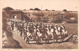 Maroc - RABAT - Défilé Des Régiments De La Garde Noire Du Sultan - Clique, Fanfare - Rabat