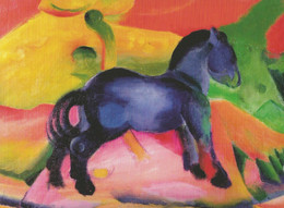 Franz Marc - Blaues Pferdchen, 1912 - Paintings