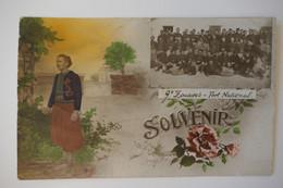 C. P. A. : Militaria : Souvenir Du 9e Zouaves Fort National Avec Photo - Regiments