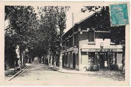 CPA   MONTLUEL  Avenue De La Gare - Montluel