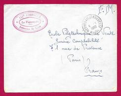 """Enveloppe Datée De 1960 - Maroc - Meknès - Timbre Humide """"131ème Compagnie Autonome Du Génie"""" - Cartas"""