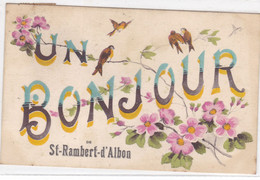 Drôme - Un Bonjour De St-Rambert-d'Albon - Andere Gemeenten
