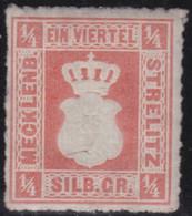 Mecklenburg-Strelitz  .   Michel   . 1a    (2 Scans)  .     *   .     Ungebraucht Mit  Gummi - Mecklenbourg-Strelitz
