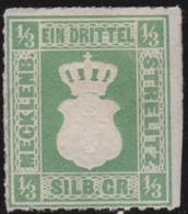 Mecklenburg-Strelitz  .   Michel   . 2a    (2 Scans)  .     *   .     Ungebraucht Mit  Gummi - Mecklenbourg-Strelitz