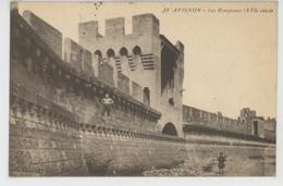 AVIGNON - Les Remparts - GUERRE 1914-18 - Cachet De L'HÔPITAL ANNEXE MILITAIRE SAINT JOSEPH - Avignon
