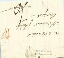 Maine Et Loire , Saumur , Marque D'arrivée Du 5 Nov 1820 - 1801-1848: Precursori XIX