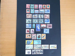 UK / South Africa / Suid Afrika : 34 Stamps (1913-1960) - Collections, Lots & Séries