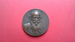 Russland Russia Medaglia Lev Nikolaevich Tolstoy Лев Никола́евич Толсто́й  Медали - Avant 1871
