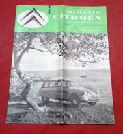 Bulletin Citroën N°628 Mai 1965 Fusion Citroën Panhard Laboratoire Couleur ORTF Centrale Monthereau - Auto/Moto