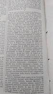 ILLUSTRAZIONE ITALIANA 1888 MORTE GIACOMO ZANELLA VICENZA PIETRO ALDI MANCIANO ROMA LAVORI PONTE GARIBALDI E VIA ARENULA - Sin Clasificación