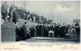 FROYENNES-lez-TOURNAI - Pose De La Première Pierre Du Pansionnat Des Frères De Passy Le 22 Mars 1904 - Other