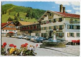 "Mercedes Heckflosse W110,S-Klasse W108,Opel Kadett B,Commodore A...,Oberstaufen,Hotel ""Löwen"", Gelaufen - Passenger Cars"